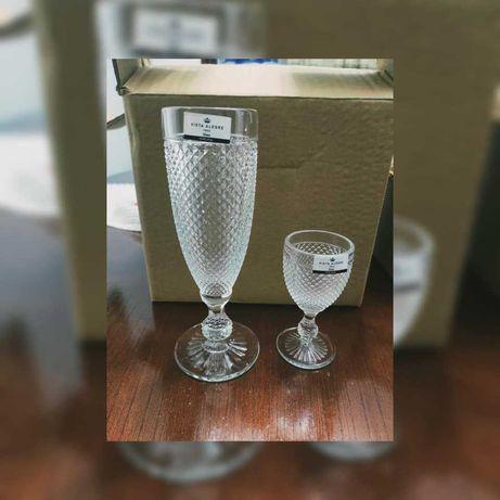 conjunto de copos Vista Alegre