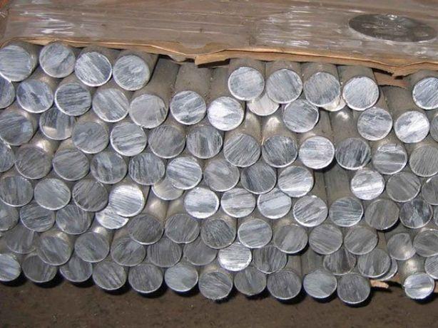 Круг алюминиевый, дюралевый ф 20, 30, 40, 50, 60 мм Д16Т
