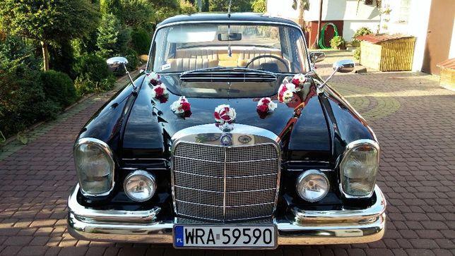 Auto Samochód do ślubu! Mercedes W111! 1967r. Piękny! Radom i okolice!