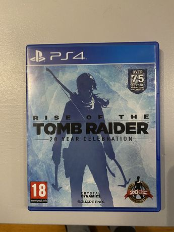 Rise of the tomb raider ps4 stan bdb