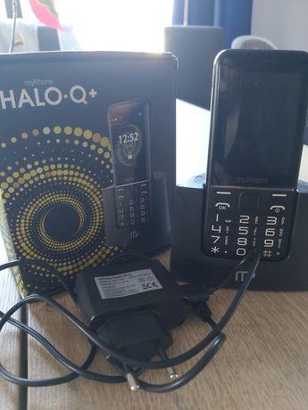 My Phone halo q + nieużywany nowy telefon dla seniora