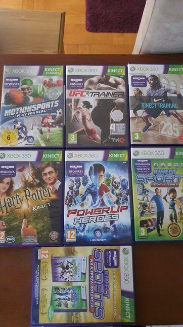 Super gry na konsolę Xbox360 Sensor Kinect ceny od40zł