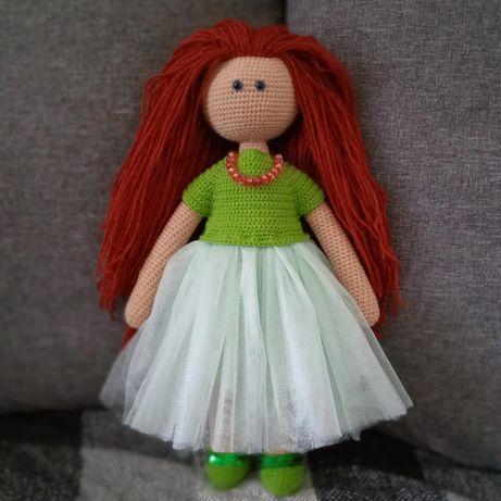 Вязаные грушки, куклы ручной работы