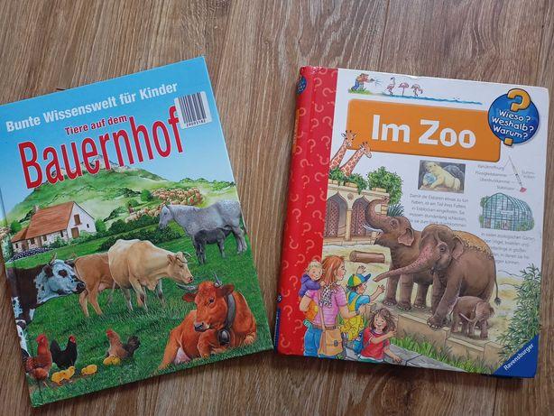 Niemieckie książeczki o zwierzętach dla dziecka po niemiecku
