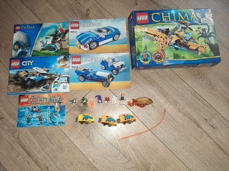 Lego instrukcje części spinnery