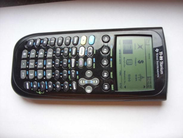 Fantástica calculadora Texas TI-89 Titanium