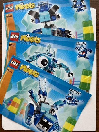 LEGO Mixels оригінал (б/в) 3 фігурки однієї серії утворюють 4+бонус