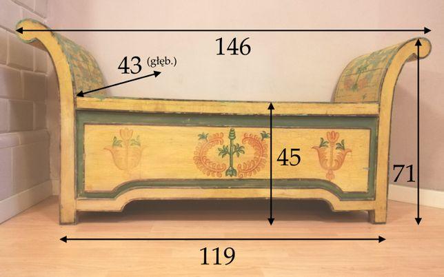 Antyk: skrzynia-kufer, Indie XVIII w.