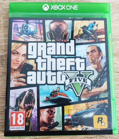 Gra Grand Theft Auto V Xbox one