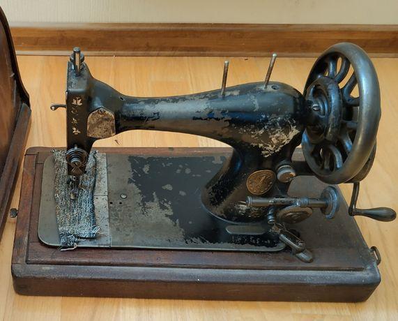 Singer настольная швейная машинка Зингер 1886 года