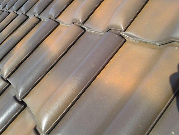 dachówka Roben jesienny liść średzka falista