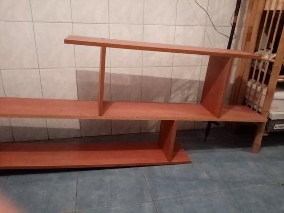 półka długa na ścianę 200 cm / 63 cm