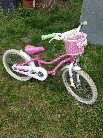 Rower dziecięcy,  dla dziewczynki