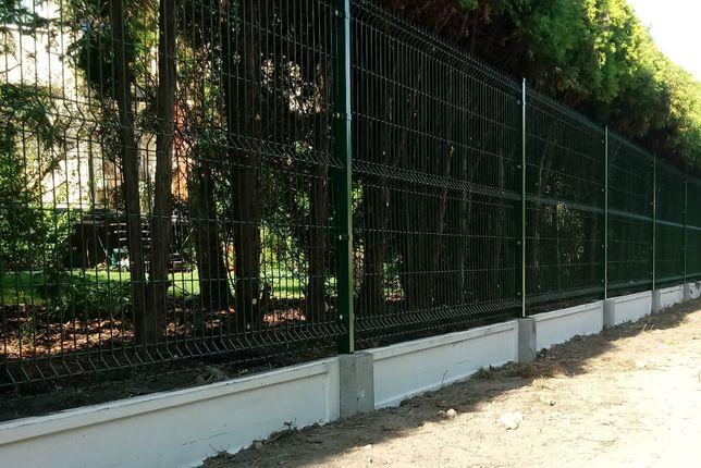 Panel ogrodzeniowy panele ogrodzenia balustrady bramy montaz