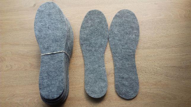 Wkładki do butów rozm.44 CENA za 6 PAR