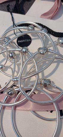 Bransoletka Pandora bangle moments 17 18 kulka serce   19 20 21