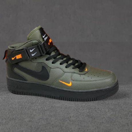 Nike Air Force  Мужские кроссовки Найк Аир Форс  Ботинки  Кеды 4 цвета