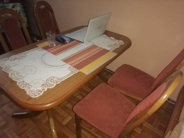 Komplet Stół + 4 krzesła