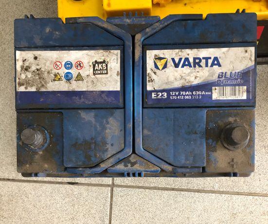 Акумулятор Varta E23 12V 70 Ah 630A (EN) Blue Dynamic