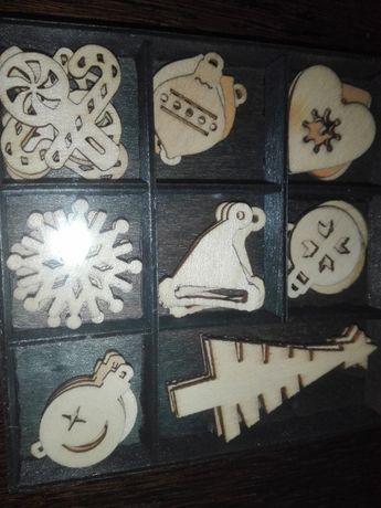 dekoracja drewniana
