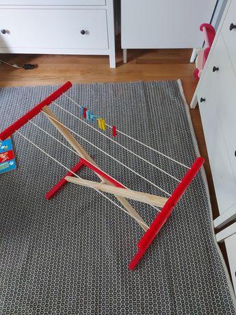 Playtive drewniana suszarka na pranie