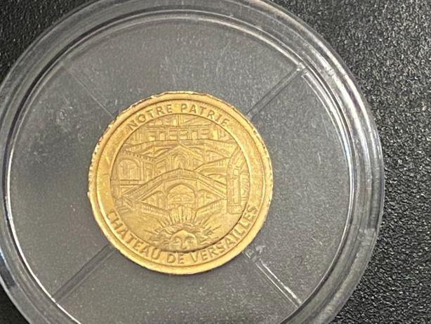 Złota Moneta, żeton kolekcjonerski Notre Partie Chateau de Versailles