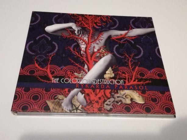 Rykarda Parasol The color of destruction CD z autografem // pj harvey