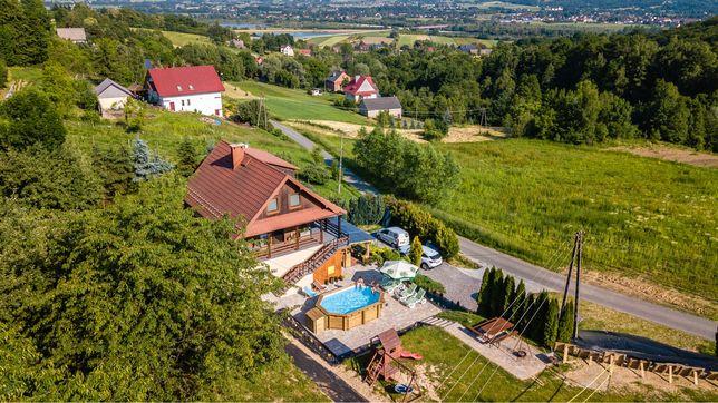 Willa Sulimówka,sauna,basen,wanna termalna, dom do wynajecia