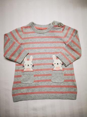 Речі для дівчинки, светрик, джинси 3-6міс