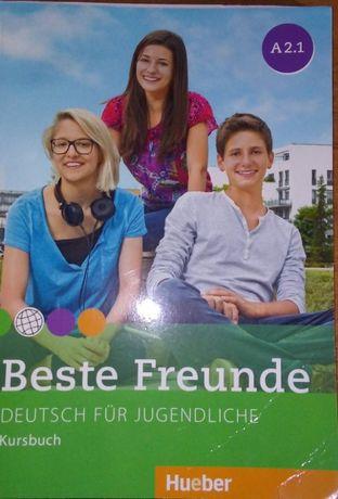 Best Freunde A2.1: комплект (учебник, рабочая тетрадь и компакт-диск)