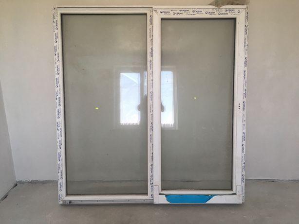 Вікно металопластикове з німецького профілю Gealan