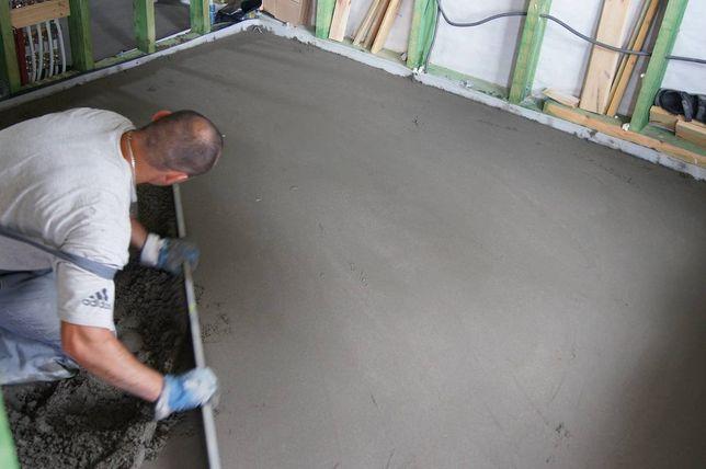 Posadzki wylewki maszynowe i przemysłowe betonowe Zachodniopomorskie