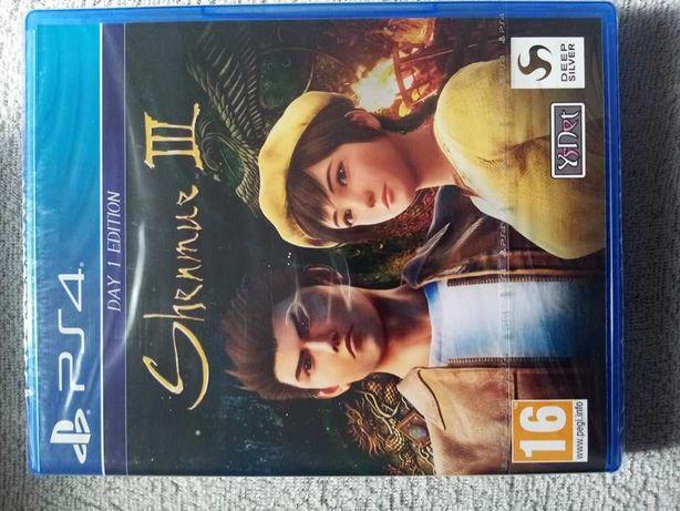 Gra PS4 plastation 4 pro Shenmue 3 PL ps5