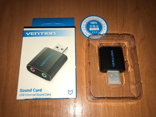 Внешняя звуковая карта USB Vention
