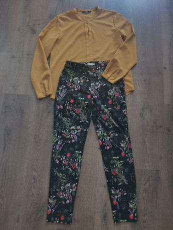 Продам комплектом блуза+брюки 36-38р