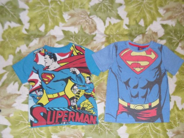 5-7 л Superman футболка супер герои супермен