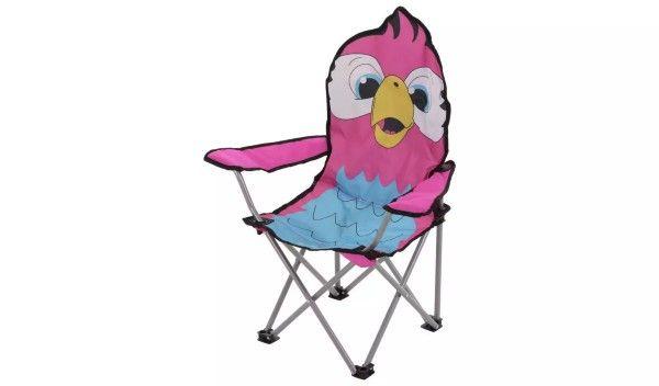 Regatowy dziecięcy fotel kempingowy Parrot
