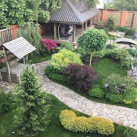 Обрезка и благоустройство сада, валка деревьев, услуги садовника