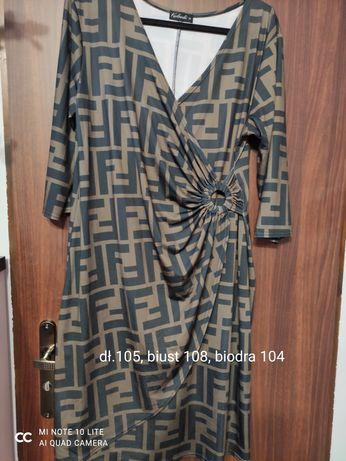 Sukienka 42/44 modny wzór