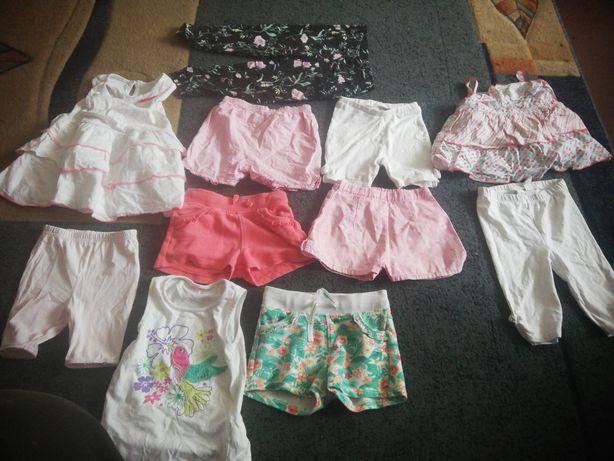 Zestaw ubrań dla dziewczynki roz 86