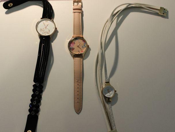Zegarki na rękę damskie – NOWE 3 sztuki!! Idealne na prezent