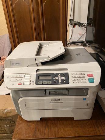 Принтер Сканер МФУ Ricoh Aficio SP 1200SF