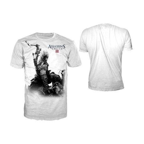 Koszulka Assassins Creed III White CONNOR XL