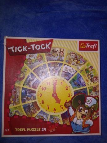Tick tock zegar puzzle
