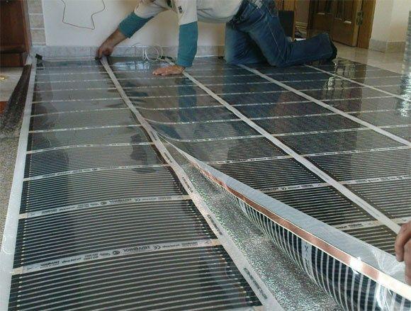 Тепла підлога електрична Нагрівальний кабель для обігріву труб
