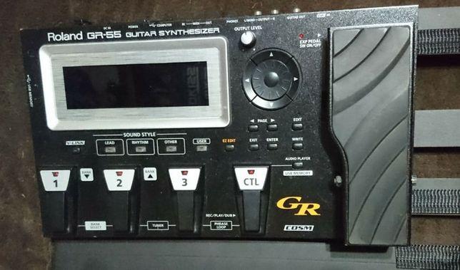 Roland gr-55 + Roland GK3B