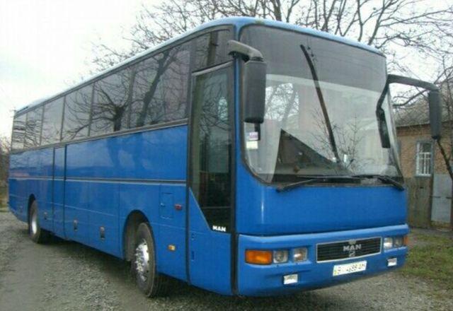 Автобус МAN420 синий