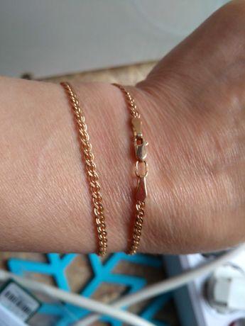 Золотий ланцюжок, цепочка, 45 см, венецианка, 6.5 г