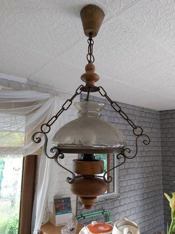 Piękna lampa stylowa