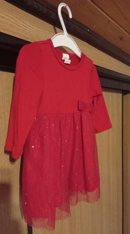 Sukieneczka H&M rozmiar 68